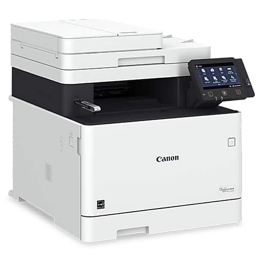 Canon Color imageCLASS MF743Cdw Wireless Color Laser All-In-One Printer $205.49 + Tax