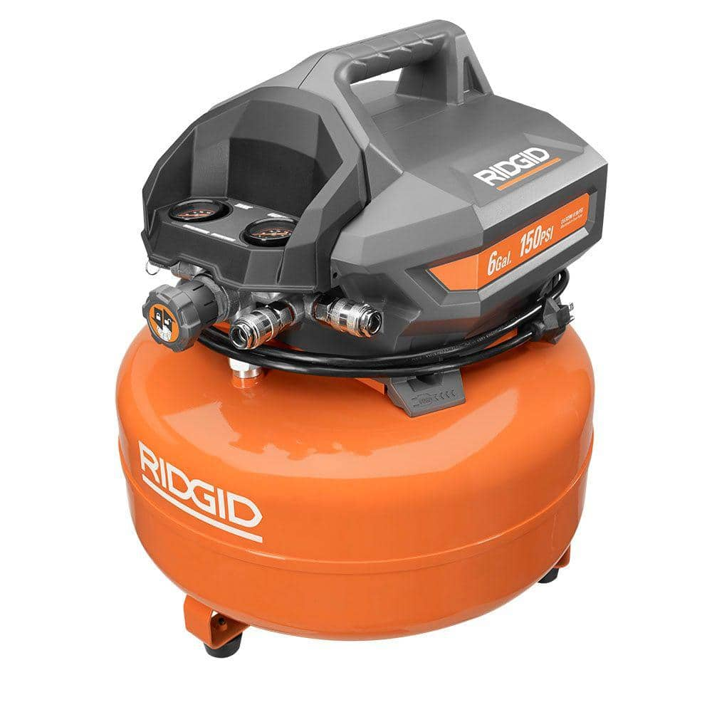 6 Gal. Portable Electric Pancake Compressor $99.99 with free store pickup