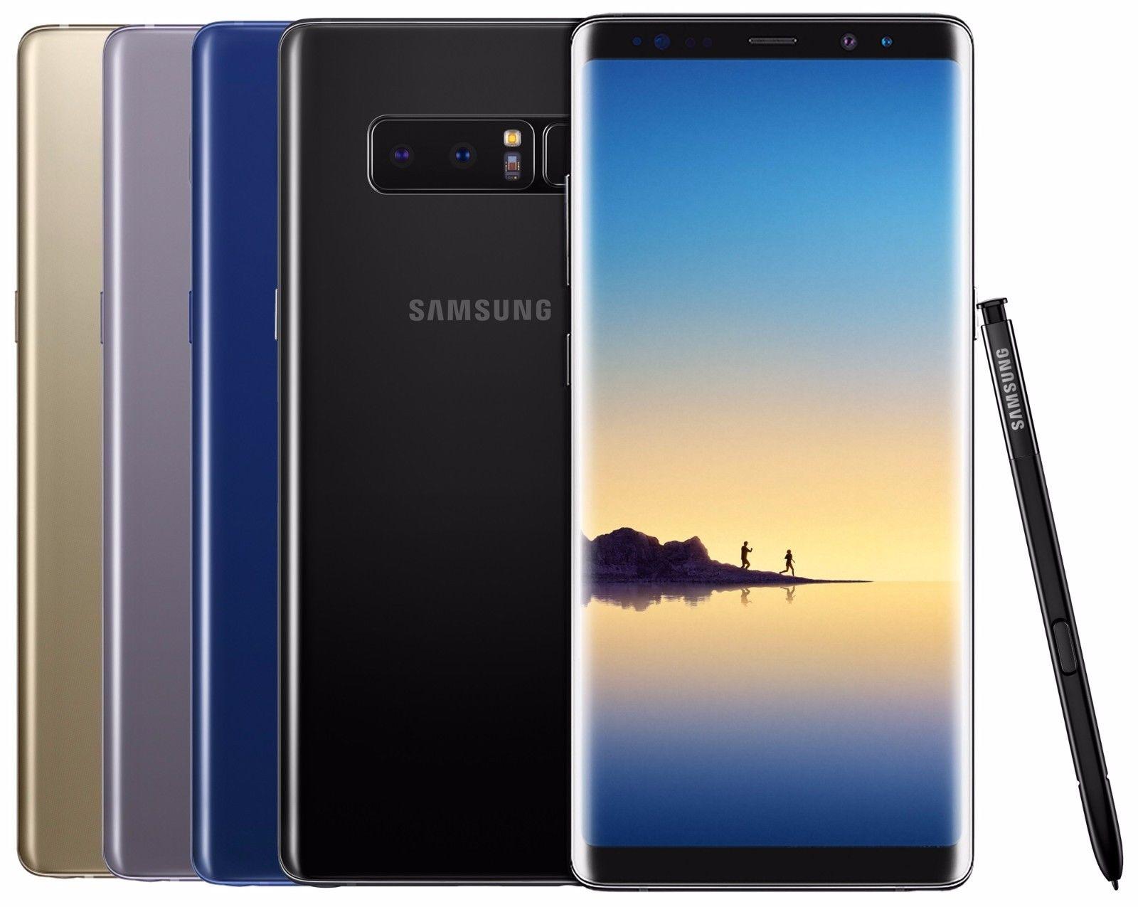 Samsung Galaxy Note 8 (64GB Factory Unlocked) for $729.99 on eBay