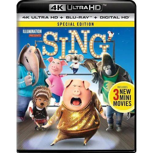 4K Blu-rays: Sing, Minions, Furious 7, Warcraft, and more $7.50 each + free shipping when you buy 3 or more from GoogleExpress