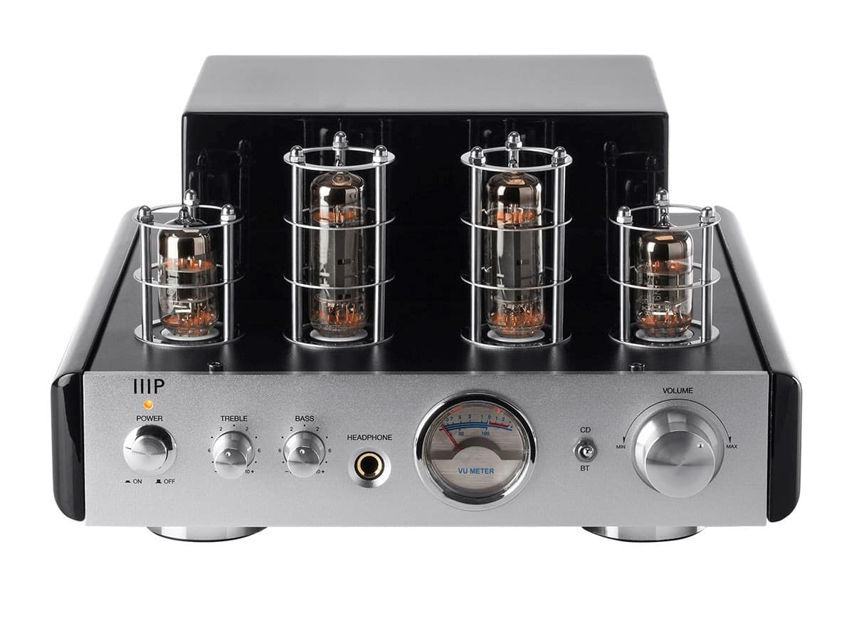 Monoprice 25W Tube Amp with Bluetooth Stereo Hybrid $64 Free shipping w promo code Refurbished