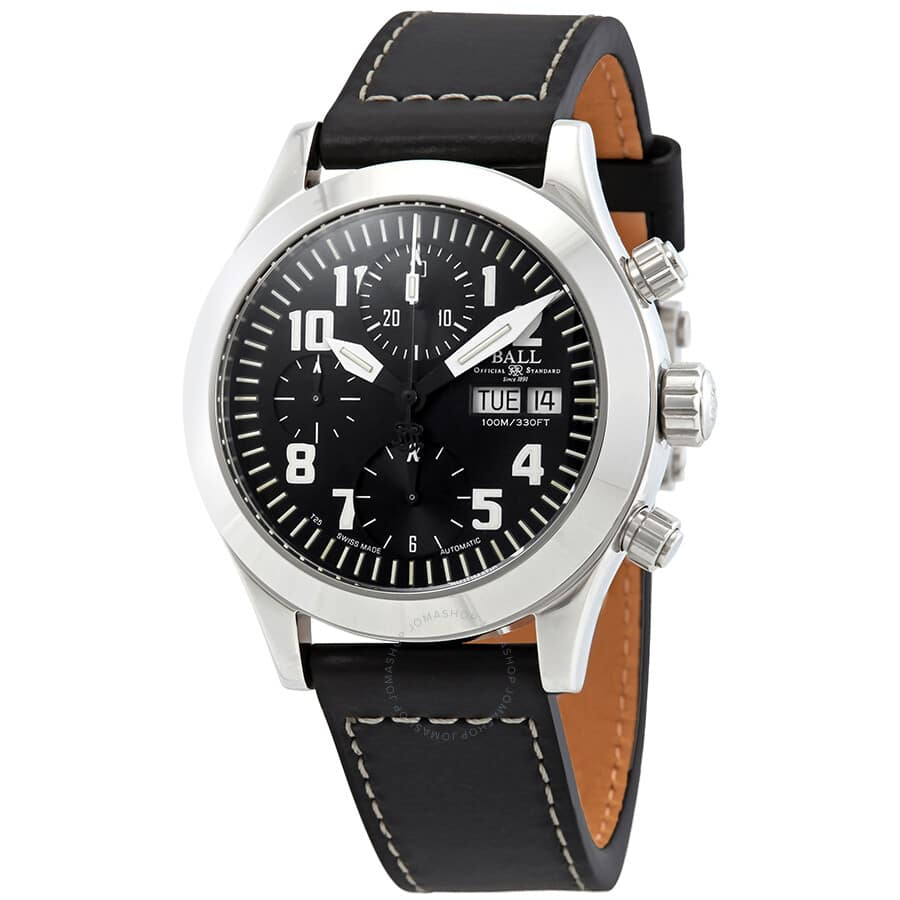 BALL Swiss Made Engineer II Automatic Chronograph Black Dial Men's Watch CM1020C-L2J-BKWH $850 (71% off) + free S&H