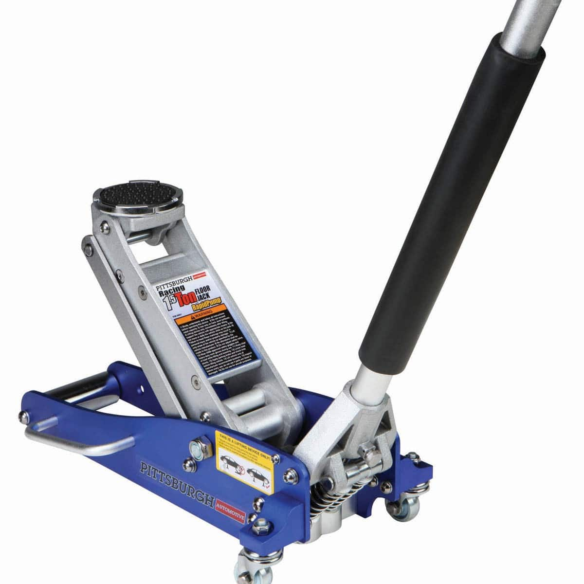 Floor Jack - Harbor Freight 1.5 Ton Cheapy = $57.99 OR Advance Auto Parts 2.5 Ton ~$89