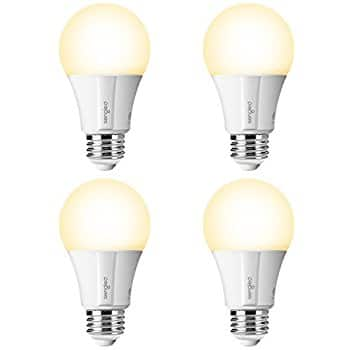 4 Pack-Sengled Smart LED Bulb, for $27.29 + Free Shipping, 60W White 2700K, works with SmartThings, Alexa & Google Assistant 30% Off