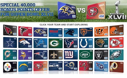 NFL Extra Points Visa Signature SuperBowl Promo - $400 Cash Back after $2500 - Links Added for $400 Cash Back after $1000