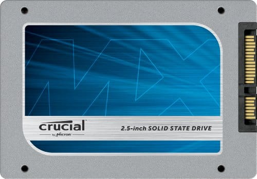 "Crucial MX100 512GB SATA 2.5"" 7mm (with 9.5mm adapter) Internal Solid State Drive CT512MX100SSD1 $200 @ Amazon"