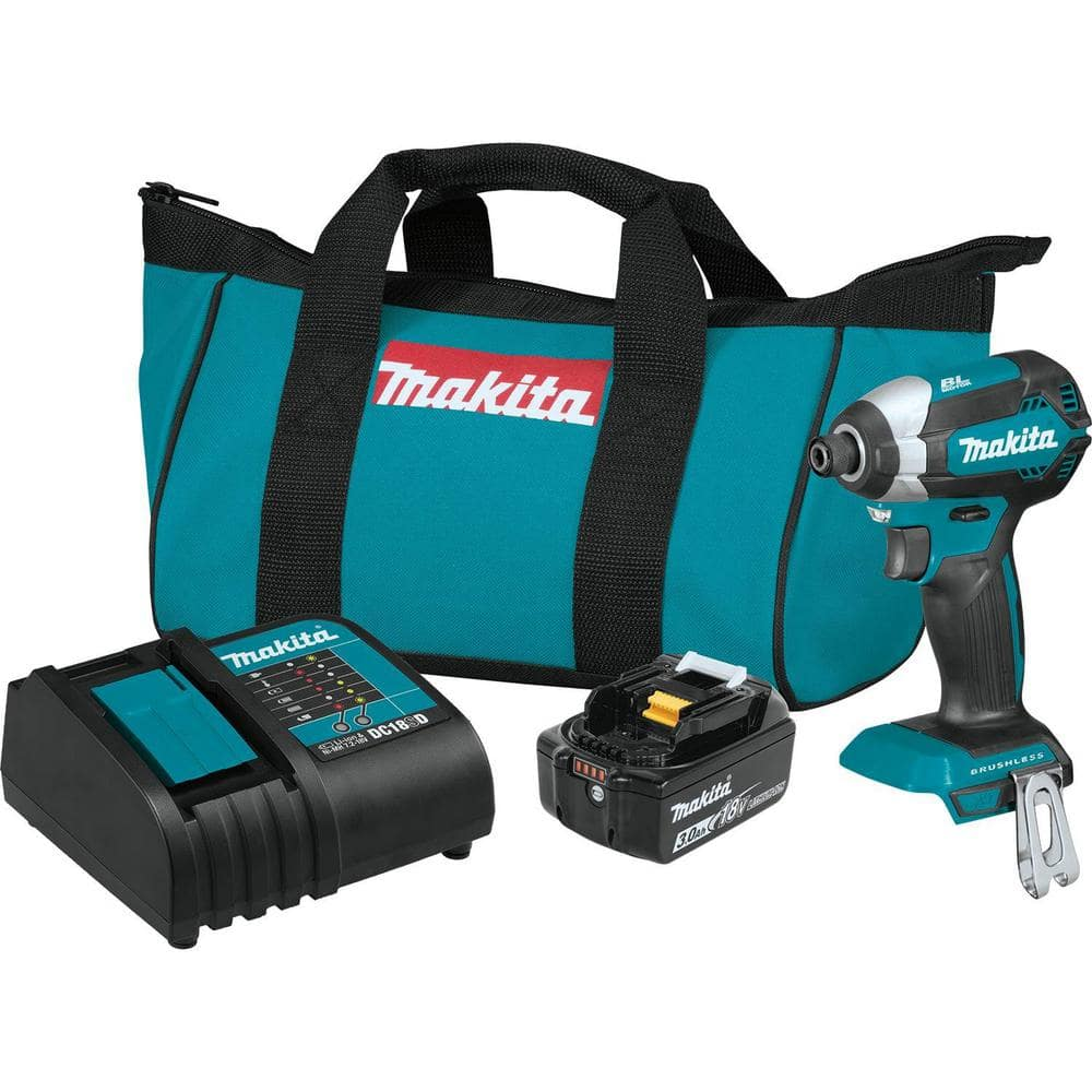 Makita - 18v brushless impact with 3Ah battery for $100