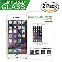Amazon Deal: amFilm iPhone 6S Tempered Glass Screen Protector (2-Pack) for 3.95 after coupon