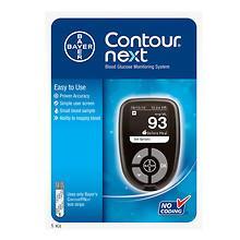 CONTOUR NEXT Next Blood Glucose Monitoring System $10 at Walgreen