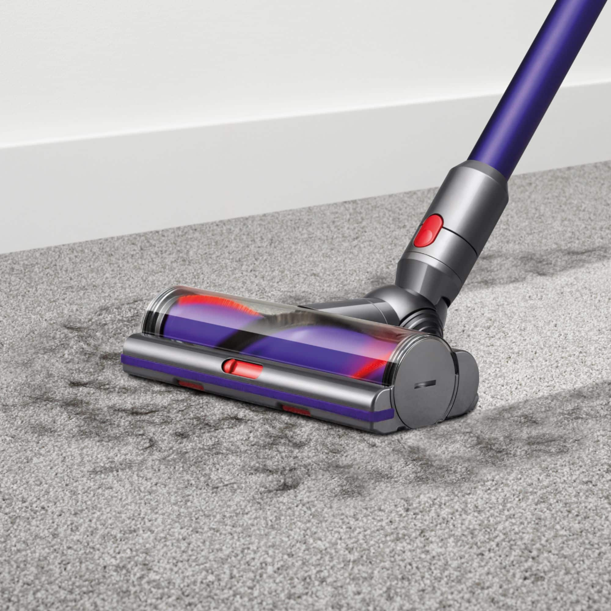 Best Buy: Dyson - Cyclone V10 Animal Cord-Free Stick Vacuum - Purple for $349.99