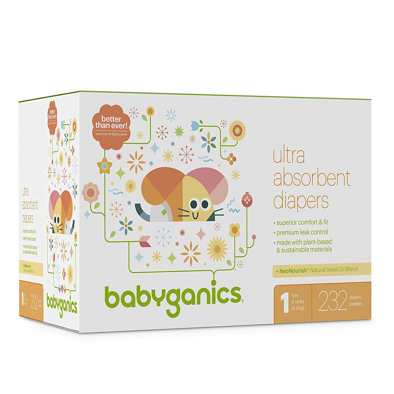 40% off Babyganics Diapers, Wipes, and More. Save more w/ S&S + F/S