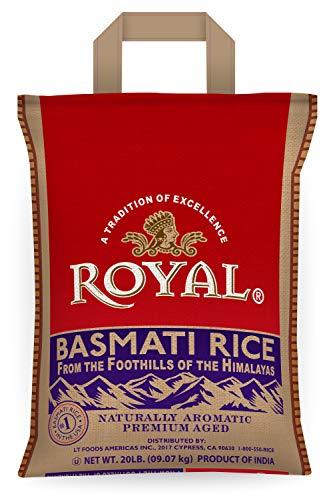 Royal White Basmati Rice, 20 Pound $15.96