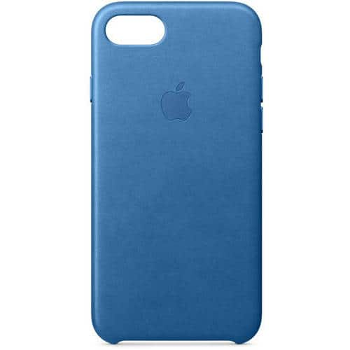 Apple Leather Case for iPhone 7/ 8  - Sea Blue $16