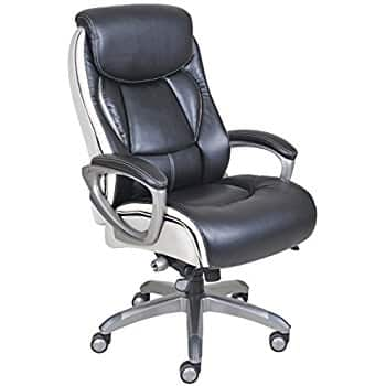 """Amazon: Genesis designs """"beverly"""" high back executive office chair only $77.35 + free shipping"""