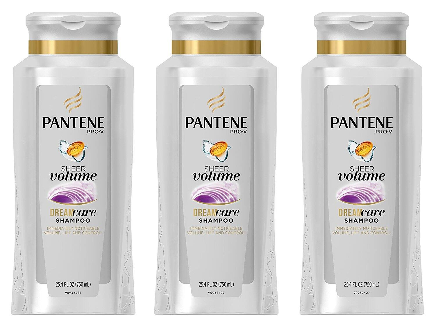 Amazon: PANTENE PRO-V SHEER VOLUME SHAMPOO, 25.4 FLUID OUNCE (PACK OF 3) ONLY $12.04