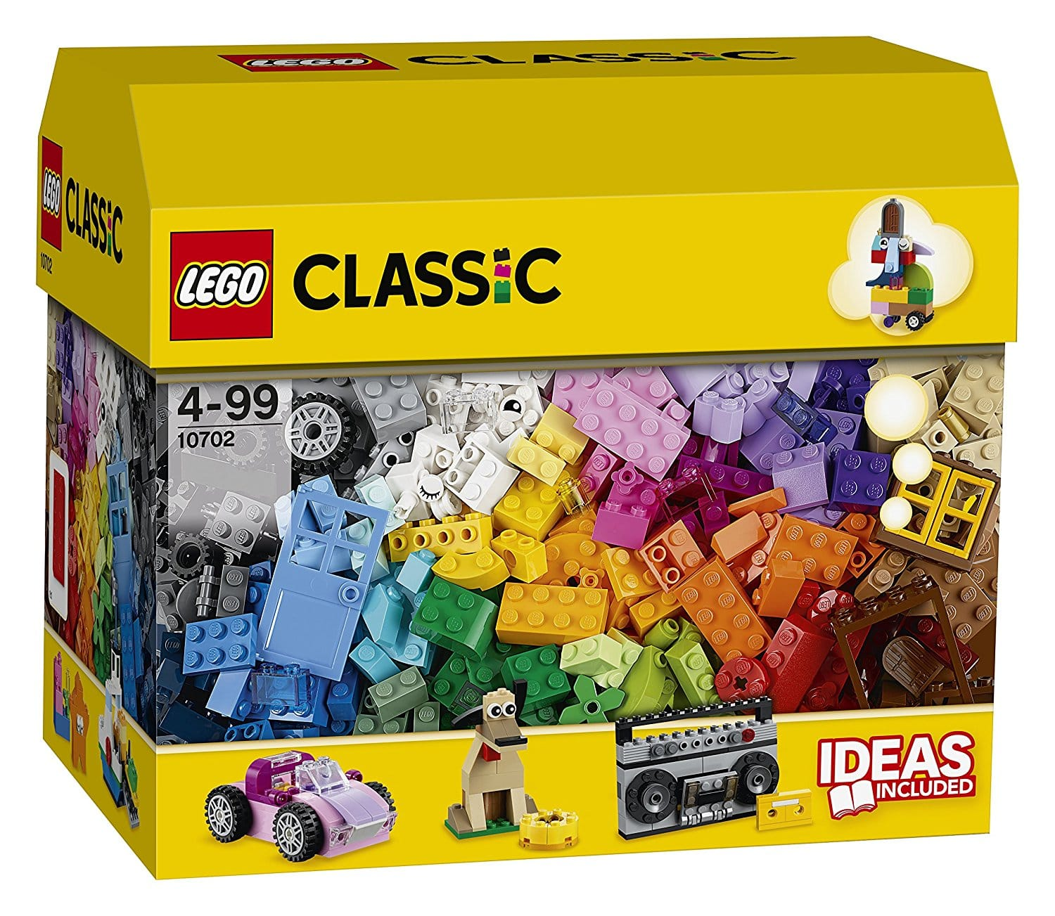 Lego classic creative building set 10702 (583 pieces) only $19 $18.86
