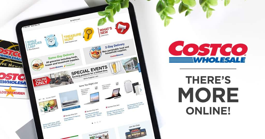 Exclusive Code: Get $50 OFF An Order of $500 or More on Costco.com!