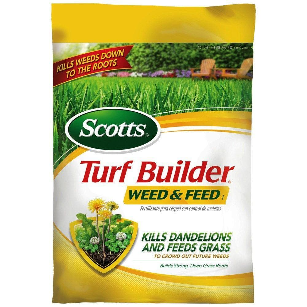 Scotts 25012 Turf Builder Weed & Feed Fertilizer (4 Pack) - 39.96 Amazon (OOS but orderable) $39.96