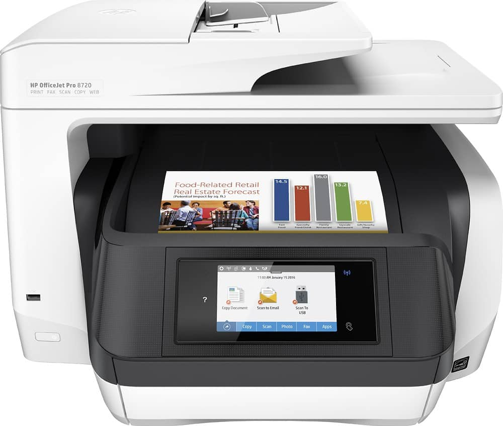HP - OfficeJet Pro 8720 Wireless All-In-One Instant Ink Ready Printer $99 with my best buy member offer of $50 off