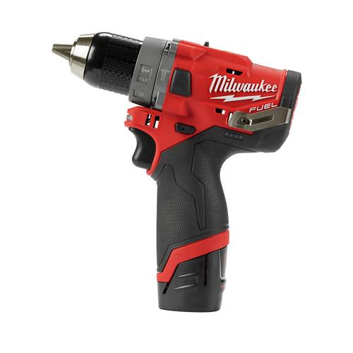 """Milwaukee 2504-22 M12 FUEL 1/2"""" Hammer Drill Kit (2 Ah / 4 Ah) - $115 FS @ TylerTool $114.99"""