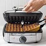 All-Clad Classic Round waffle maker $79.95+tax shipped, 2-square Belgian $129+tax shipped, 4-Square Belgian $149.95+tax shipped free shipping @ Williams Sonoma