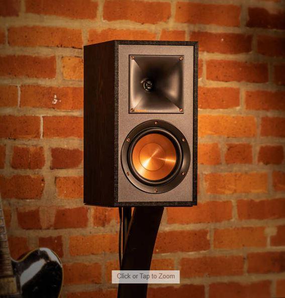 Klipsch Bookshelf Speakers, 2-pack R41-M $89.99