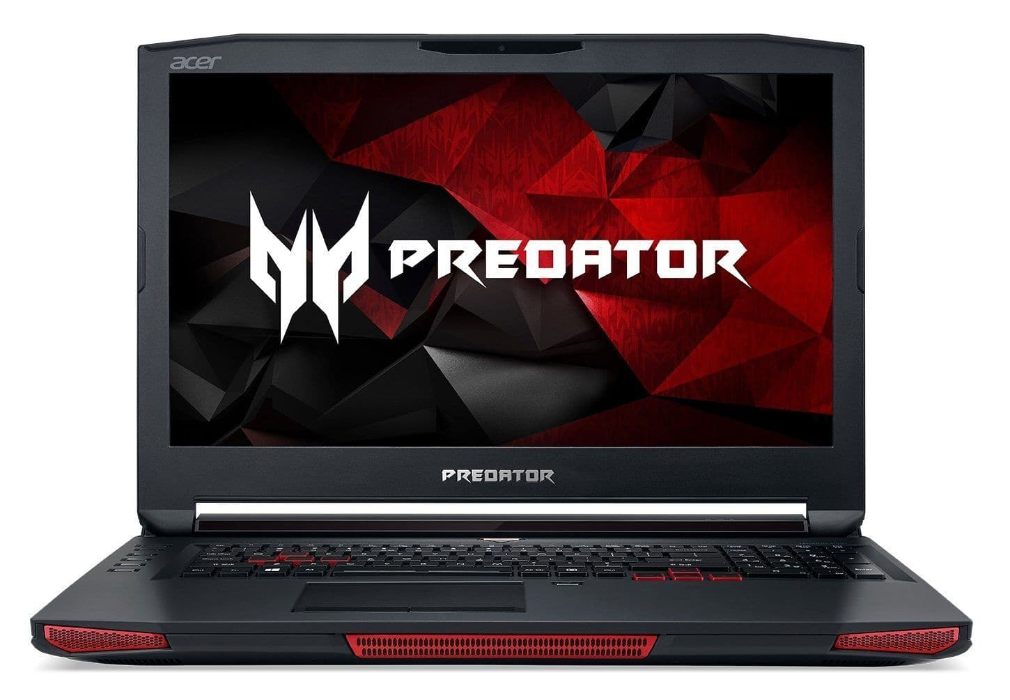 Acer Predator Gaming Laptop 17 X Manufacturer Refurbished $1589 NVIDIA GeForce GTX 1080 SSD G-SYNC VR Machine
