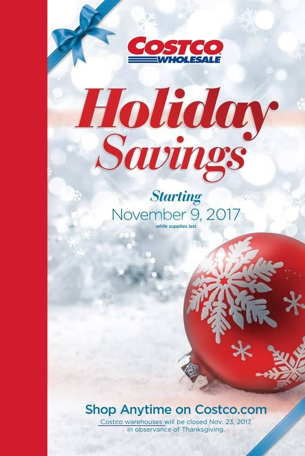 costco holiday savings coupon book including black friday coupons 111 1127