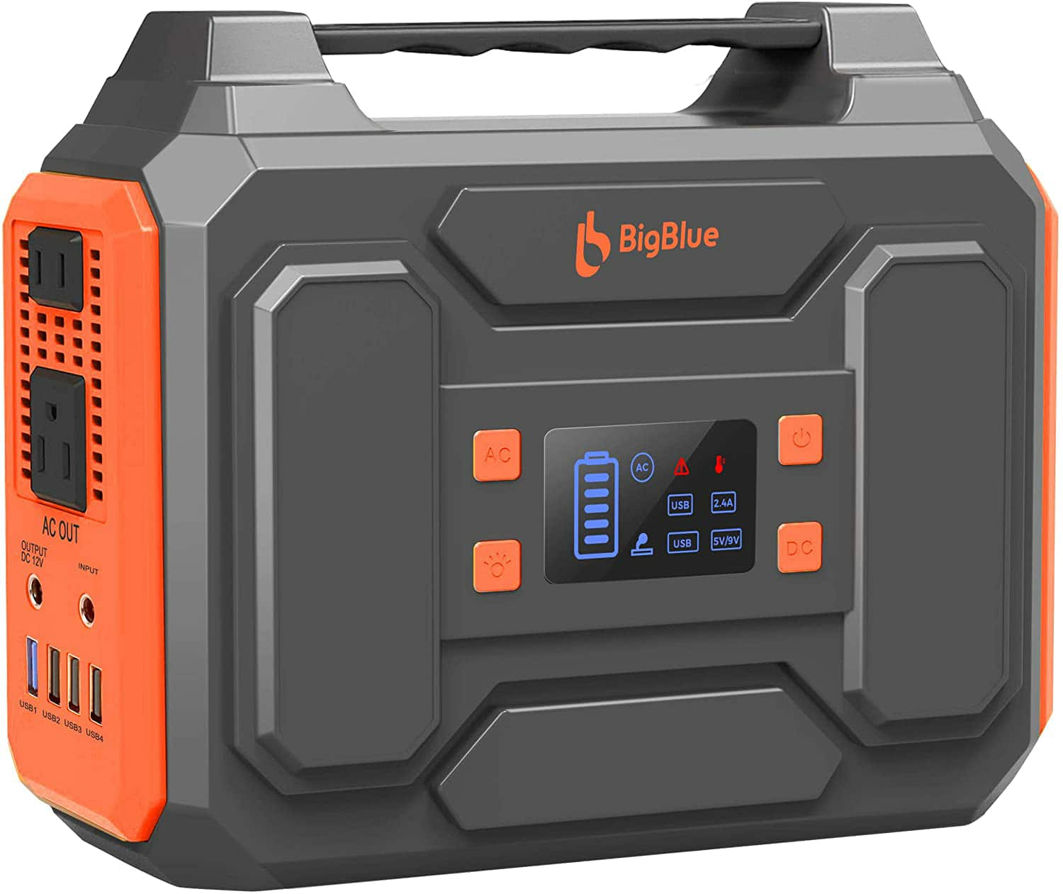 Amazon.com: 250Wh Portable Generator, BigBlue 67500mAh Power Station with 110V Pure Sine Wave AC Outlets/2 DC/4 USB Ports, Camping Accessories with Fast Charge $144.99