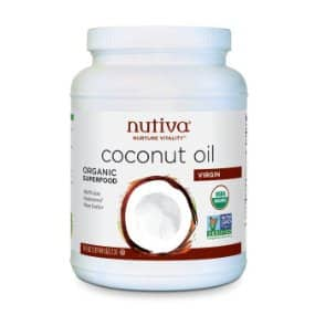 Nutiva Organic, Cold-Pressed, Unrefined, Virgin Coconut Oil 78 Ounces Amazon $19.99