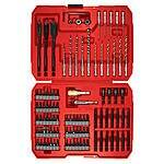 100-Piece Craftsman Speedlock Quick Change Bit Set  $18 + Free In-Store Pickup
