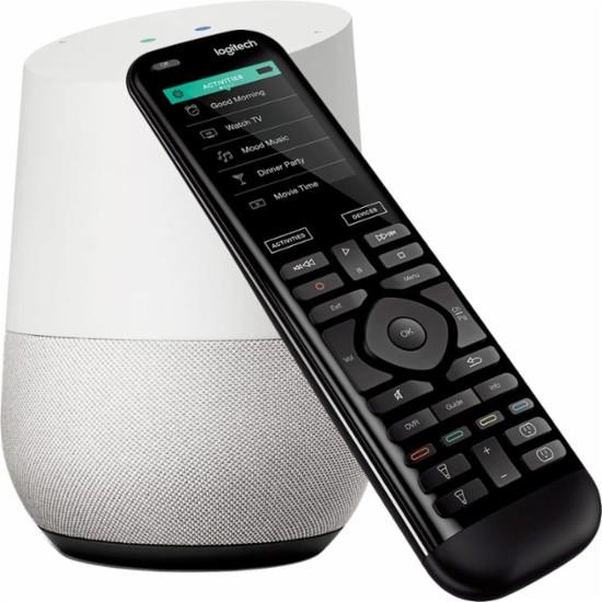 Logitech - Harmony Elite Universal Remote & Google Home Package $279.99