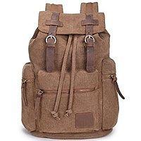 Amazon Deal: Vintage Canvas Backpack Bookbag For Girls Mens Womens Boys $20.66 FS @Amazon