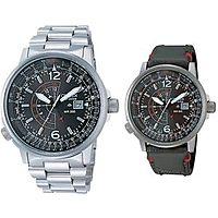 eBay Deal: Citizen Eco-Drive Promaster Nighthawk Euro Pilots Watch BJ7010-59E + Nylon Band $209.95-$212.95 @eBay