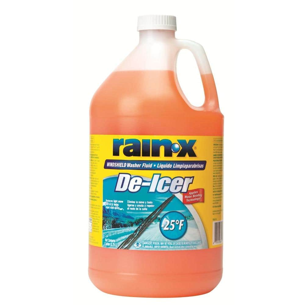 Rain-X De-Icer Windshield Washer Fluid (with water beading technology)- 1 gallon - $0.98 at Home Depot (free instore pickup) - Regional pricing, YMMV