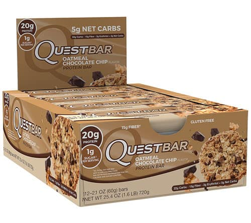 12-Count Quest Nutrition Protein Bars + other brands 25% off + Free Shipping w/ $49+ via Vitacost $18.75