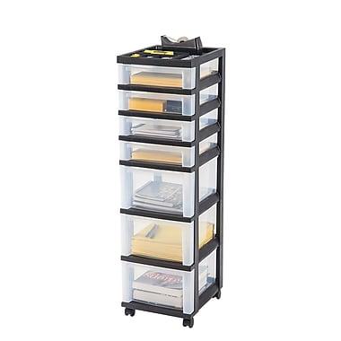 IRIS® 7 Drawer Storage Cart, Black - $17.49 - Free pickup in store - Staples