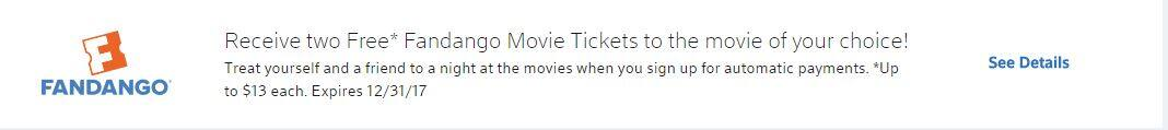 2 Free Fandango Tickets By Signing Up For Comcast Autopay