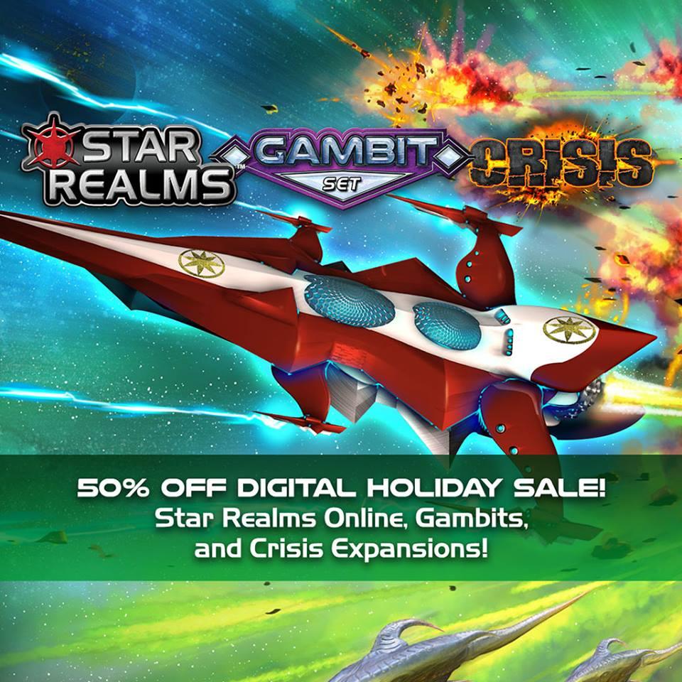 Star Realms Deckbuilding Game App, Expansions - 50% off