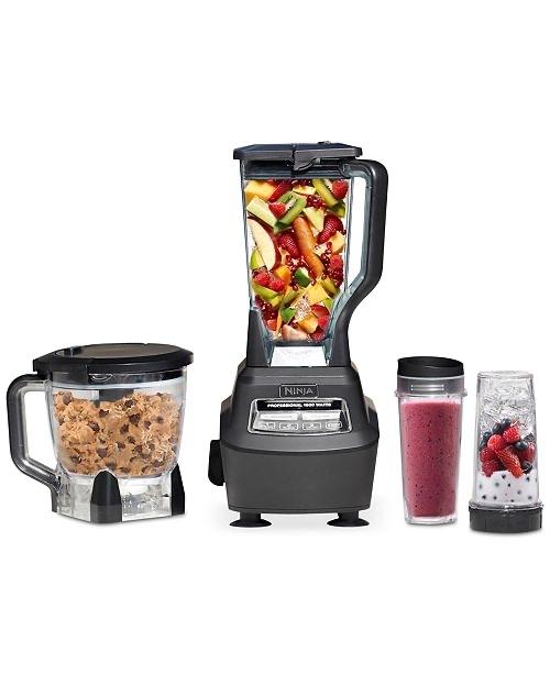 Ninja BL770 Blender & Food Processor, Mega Kitchen System & Reviews - Small Appliances - Kitchen - Macy's