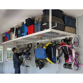 "Costco ""SafeRacks"" overhead 4'x8' garage storage rack - 149.99 (or $124.99 with amex 25 off) shipping is included"