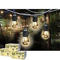 Costco Feit Outdoor Weatherproof String Light Set, 48 ft, 24 Light