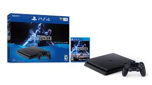 PlayStation 4 Slim 1TB Console - Star Wars Battlefront II Bundle $250