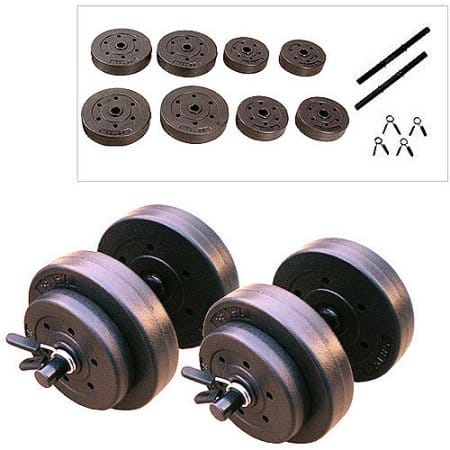 Gold's Gym 40-lb Vinyl Dumbbell Set - $14.92 + Free In-Store Pickup