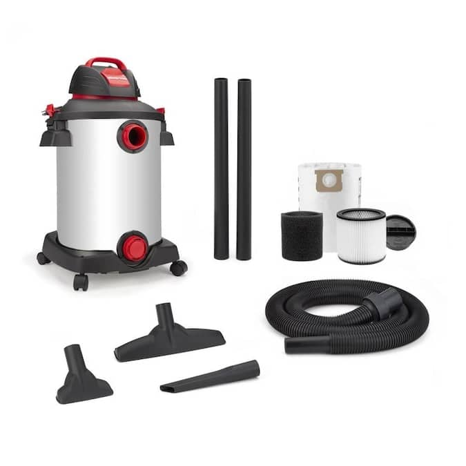 Shop-Vac 12-Gallon 6.0-HP Wet/Dry Vacuum @ Lowe's $59.99 In Store Only ymmv