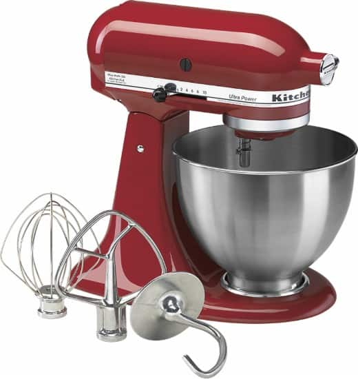 Best Buy - KitchenAid - Ultra Power Tilt-Head Stand Mixer - Red $199.99