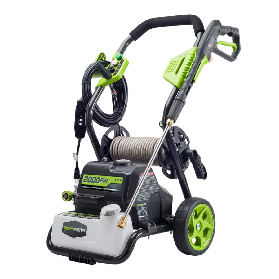 Lowe's - Greenworks 2,000-PSI 1.2-GPM Cold Water Electric Pressure Washer $159 on 5/29/17 only