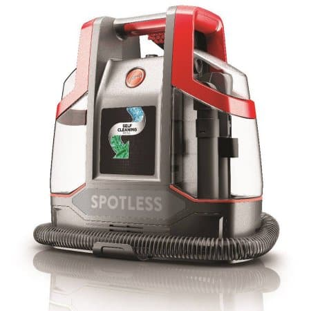 walmart hoover spotless portable carpet upholstery cleaner fh11300pc. Black Bedroom Furniture Sets. Home Design Ideas