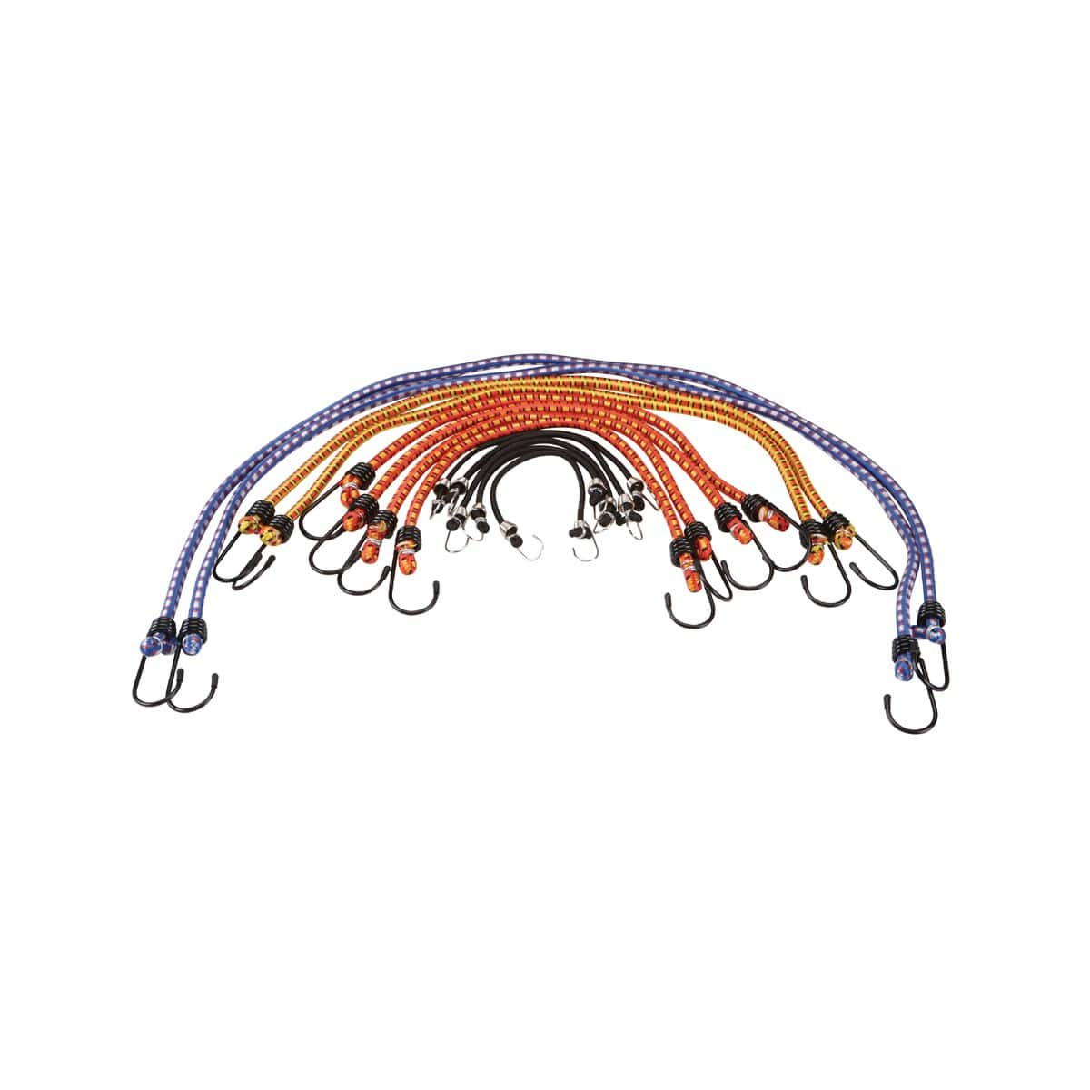 Harbor Freight  - 12 Pc Assorted Length Elastic Stretch Cords $3.99