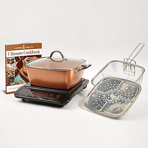 "Bed Bath & Beyond - Copper Chef™ 6-Piece Induction Cooktop with 11"" Casserole Pan $80.00"